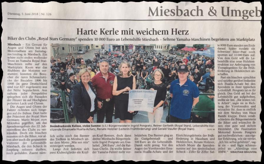 Harte Kerle - Zeitung